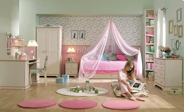 Спальня для девушки подростка